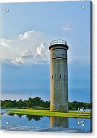 World War II Lookout Tower - Tower Road - Delaware State Park Acrylic Print