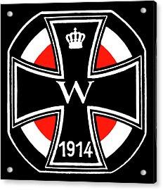 World War One Iron Cross Acrylic Print by Historic Image