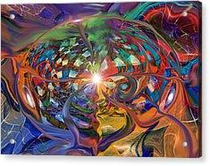World Within A World Acrylic Print