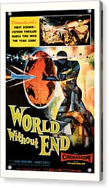World Without End 1956 Acrylic Print