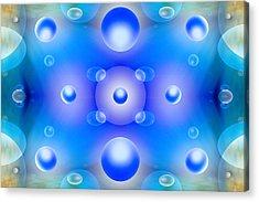 Worlds Collide 1 Acrylic Print by Mike McGlothlen