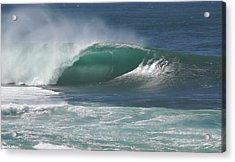 World's Most Perfect Wave . . . Acrylic Print by Kevin Smith