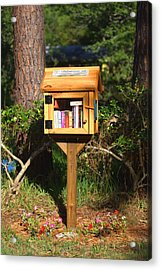 Acrylic Print featuring the photograph World's Smallest Library by Gordon Elwell
