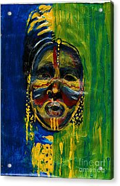 Worldwide Tribal Collection 2 Acrylic Print