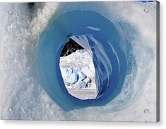 Wormhole 2 Acrylic Print by Cathy Mahnke