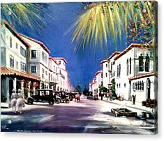 Worth Ave 1925 Acrylic Print