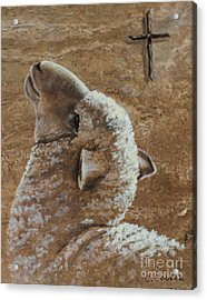Worthy Is The Lamb Acrylic Print