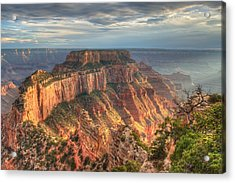 Acrylic Print featuring the photograph Wotan's Throne by Jeff Cook