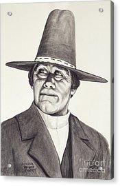 Wovoka - Paiute Prophet Acrylic Print