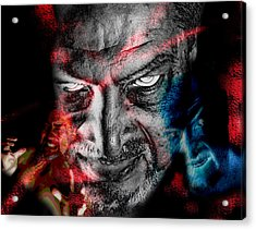 Wrath Acrylic Print by Camille Lopez