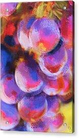 Wrath Of Grapes Acrylic Print