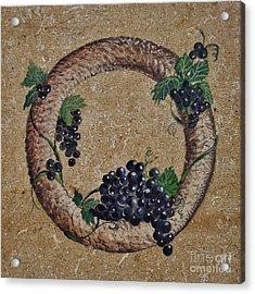 Wreath 3 Acrylic Print by Andrew Drozdowicz