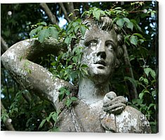 Wreathed In Nature Acrylic Print