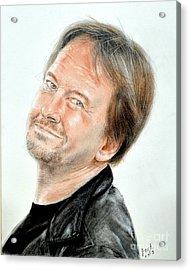 Wrestling Legend Roddy Piper Acrylic Print by Jim Fitzpatrick