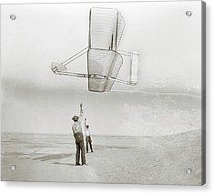 Wright Brothers Kitty Hawk Glider Acrylic Print