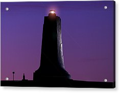 Acrylic Print featuring the photograph Wright Brothers Memorial by Greg Reed