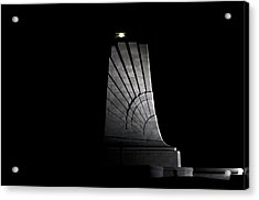 Acrylic Print featuring the photograph Wright Brothers Memorial II by Greg Reed