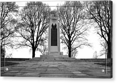 Wright Brothers Memorial Acrylic Print by Robert Clayton