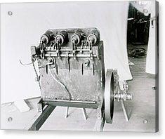 Wright Flyer Aircraft Engine Acrylic Print