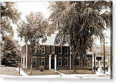 Wright Tavern, Concord, Mass, Taverns Inns Acrylic Print by Litz Collection