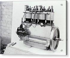 Wright Vertical 4 Aircraft Engine Acrylic Print
