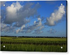 Wrightsville Beach Marsh Acrylic Print by Mountains to the Sea Photo