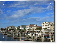 Wrightsville Beach - North Carolina Acrylic Print by Mountains to the Sea Photo