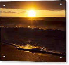 Wrightsville Beach Sunrise Acrylic Print