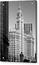 Wrigley Building - A Chicago Original Acrylic Print by Christine Till
