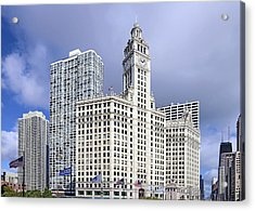 Wrigley Building Chicago Acrylic Print by Christine Till