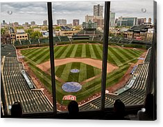 Wrigley Field Press Box Acrylic Print