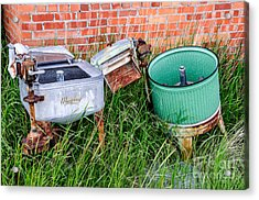 Wringer Washer And Laundry Tub Acrylic Print