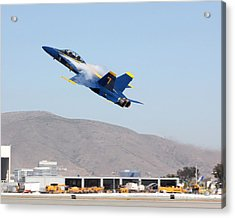 Acrylic Print featuring the photograph Write About This by Alex Esguerra