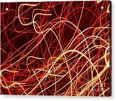 Write Light S Acrylic Print