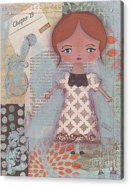 Write Your Story Acrylic Print by Trenda Berryhill