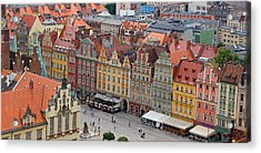 Wroclaw Acrylic Print by Kees Colijn