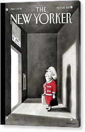 Wrong Floor Acrylic Print by Ian Falconer