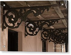 Wrought Iron Echos Acrylic Print by Jennifer Apffel