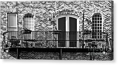 Acrylic Print featuring the photograph Wrought Iron by Lawrence Burry
