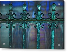 Wrought Iron Acrylic Print