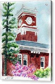 Wsu Clocktower Acrylic Print
