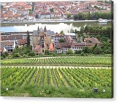 Wurzburg Acrylic Print by Pema Hou