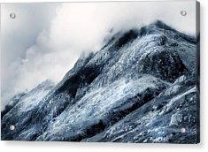Wuthering Heights. Glencoe. Scotland Acrylic Print by Jenny Rainbow
