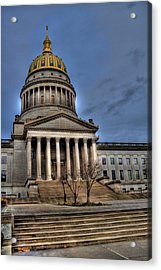 Wv Capital Building 2 Acrylic Print