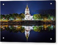 Wv Capitol Acrylic Print