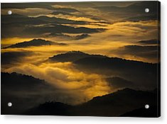 Wva Sunrise 2013 June II Acrylic Print by Greg Reed