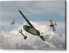 Ww1 - Spoiled For Choice Acrylic Print by Pat Speirs