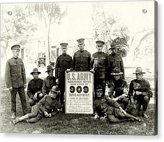 Wwi Us Army Recruiters Of California Acrylic Print