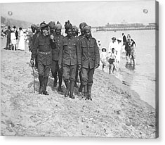 Wwi Wounded Indian Soldiers Acrylic Print