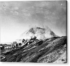 Wwii Iwo Jima Beachhead  Acrylic Print